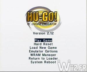 Emulateur PC Engine sur Wii - Hugo GX - Accueil