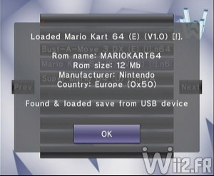 Wii 64 - Jeu charg�