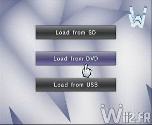 Wii 64 - S�lection d'un support