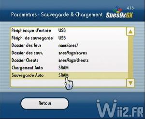 Configuration - Snes9X GX