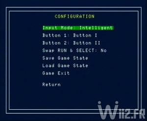 Emulateur PC Engine sur Wii - Wiiengine - Configuration des manettes