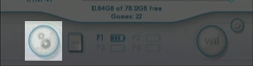 USB Loader Gx :  Bouton des parametres