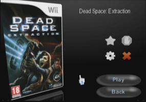 Wii Flow : Choix du jeu